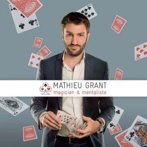 Mathieu Grant Magicien Professionnel et mentaliste